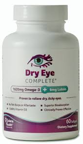 vitamins supplements for dry eyes