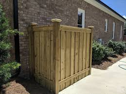 Dumpster Trash Can Enclosure Builds Installation Wilmington Nc