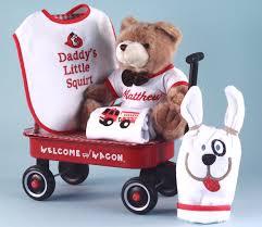 baby boy gift fireman themed wele wagon