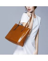 women s vintage genuine leather tote