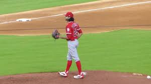 Angels reliever Noe Ramirez pitching against Carlos Correa & the ...