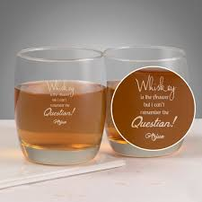 personalized whisky gles set