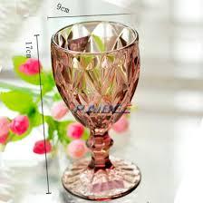 vintage wine glass water goblet