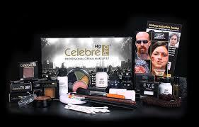 cream makeup kit celebre pro hd kit