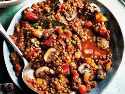 hearty lentil mushroom ragu recipe