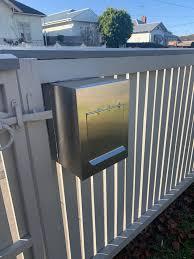 Corten Steel Letterboxes Geelong Metal