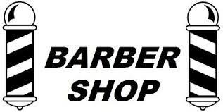 Large Barber Pole Shop Front Window Barbers Poles Vinyl Sticker Sign Wall Art Ebay