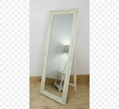 mirror glass rectangle silver color