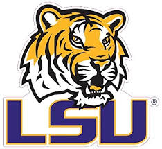 Amazon Com Lsu Tigers Team Auto Window Decal 12 X 10 Inch Sports Fan Decals Sports Outdoors