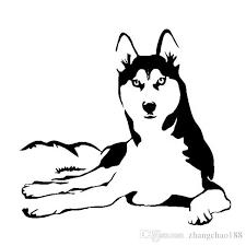 2020 15 14cm Husky Dog Animal Vinyl Decal Car Sticker Black Silver Ca 1190 From Zhangchao188 0 34 Dhgate Com