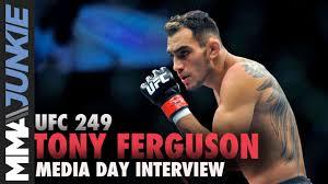 UFC 249: Tony Ferguson media day ...