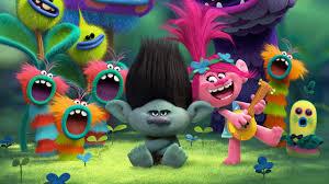 trolls animation wallpapers 1280x720