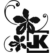 Project Jk Flower Jeep Vinyl Decal Sticker