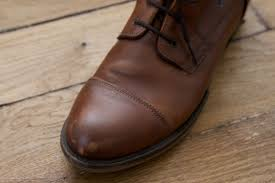 remove scuff marks from leather shoes