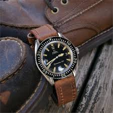 crazy horse leather watch band