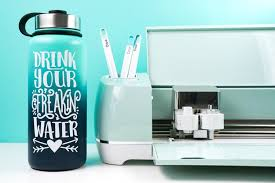 How To Use Adhesive Vinyl With A Cricut Hey Let S Make Stuff
