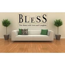 Shop Home Family Blessing Quote Wall Art Sticker Decal Overstock 11490794