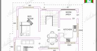 a small kerala house plan