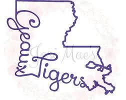 Geaux Tigers Louisiana Lsu Vinyl Decal Lsu Girl Decals Vinyl Decals