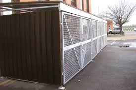 Traditional Cycle Bike Bicycle Shelter Steel Cladding