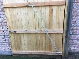 Sagging Gate Repair Kit For Stockade Fence Gates Adjustable Brace On Sale Now Ebay