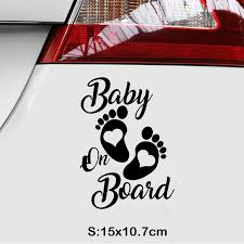 Perets Car Sticker Baby On Board Car Vinyl Stickers For Cars Auto Decoration Car Accessories Buy At A Low Prices On Joom E Commerce Platform