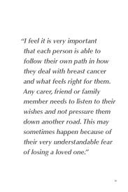 estee lauder campaign breast cancer quotes