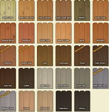 Fence And Deck Stain Colors Deck Stain Colors Cedar Fence Stain Staining Deck