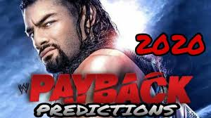 WWE PAYBACK 2020 PREDICTIONS - YouTube