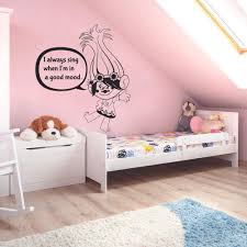 Amazon Com Poppy Troll Trolls Movie Cartoon Character Kids Wall Sticker Art Decal For Girls Boys Kids Room Bedroom Nursery Kindergarten House Fun Home Decor Stickers Wall Art Vinyl Decoration Size 20x18 Inch