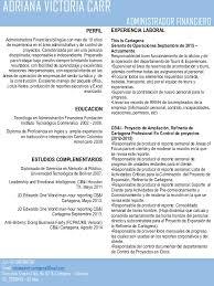 ADRIANA VICTORIA CARR CV_Esp