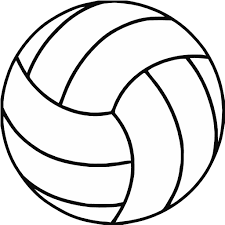 Free Printable Volleyball Clip Art   Shape Collage - Shapes   Volleyball  clipart, Volleyball crafts, Volleyball posters