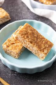 no bake peanut er granola bars