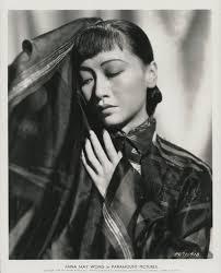 Anna May Wong (21) Asian-fashion glamour portrait photographs.