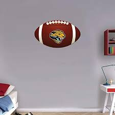 Jacksonville Jaguars Nfl Wall Decal Sport Logo Nfl Vinyl Home Decor Room