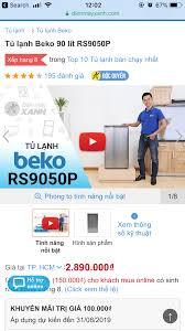 Tủ lạnh mini Beko 90L GIÁ TỐT - chodocu.com