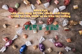 Hướng dẫn công bố sản phẩm bánh kẹo nhập khẩu