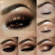 step natural eye makeup for brown eyes