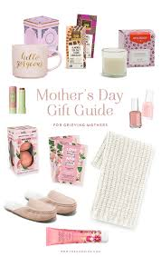 gift guide for grieving mothers