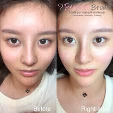 permanent makeup asian eyes saubhaya