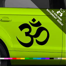 50 Off Om Symbol Car Vinyl Decal Ohm Aum Window Or Bumper Etsy