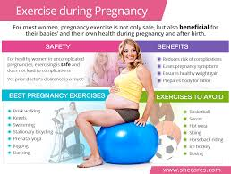 exercise during pregnancy shecares