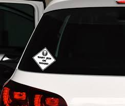 Baby Jedi On Board Decal Star Wars Sticker For Car Window Etsy