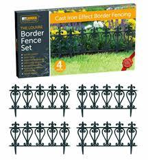 garden border fence set
