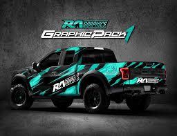 Ra Graphic Pack 1 Truck Wraps Graphics Truck Graphics Trucks