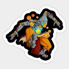 Zenyatta Of Overwatch Zenyatta Sticker Teepublic
