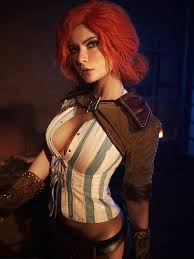 triss marigold the witcher cosplay