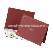 corporate gift certificate holder file