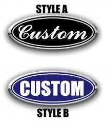 Ford Custom Emblem Decals Your Design