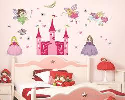 Princess Castle Girls Vinyl Wall Decals Nursery Sticker